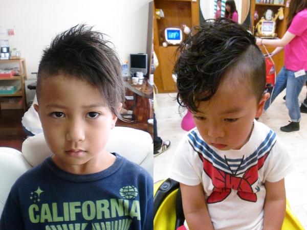 子供,髪型,男,ツーブロック,アシメ