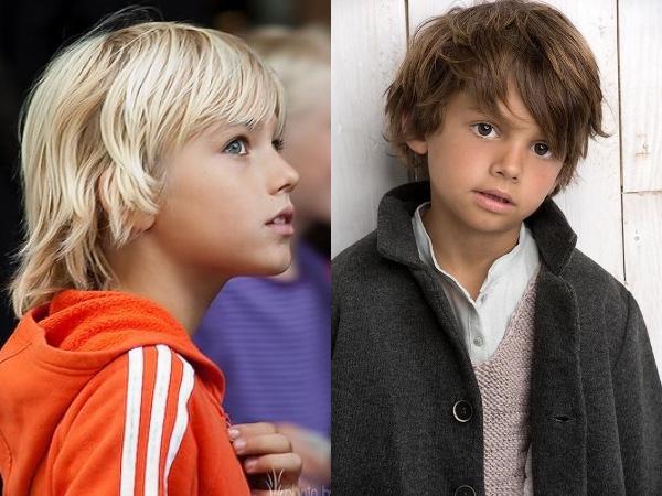 子供,髪型,男,長め