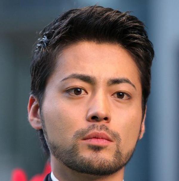 山田孝之,髪型,オールバック,ショート,セット