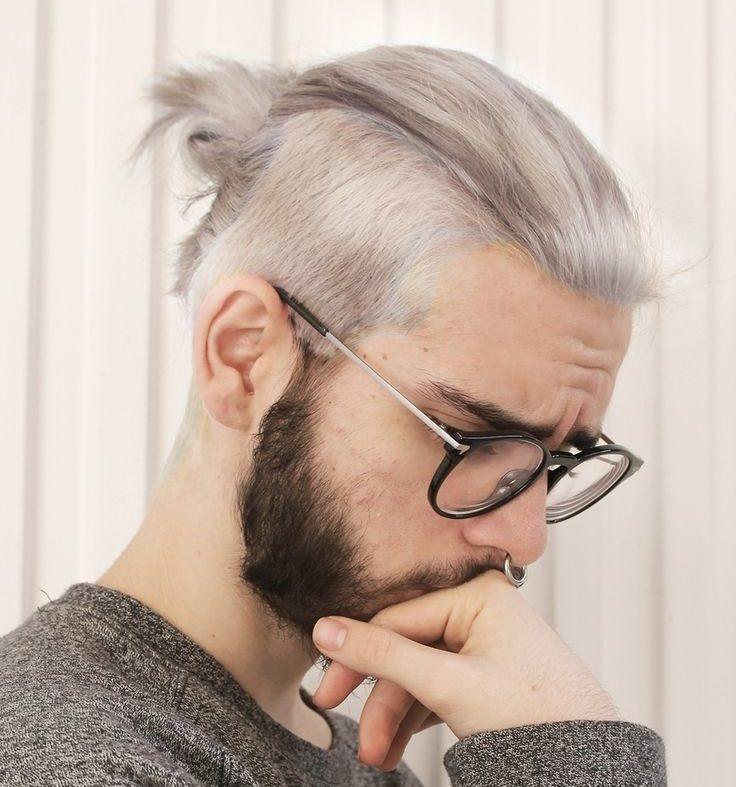 メンズ,髪型,ロン毛,ツーブロック,結び方