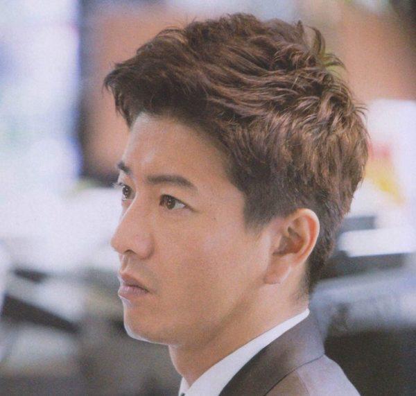 木村拓哉 髪型 グッドラック