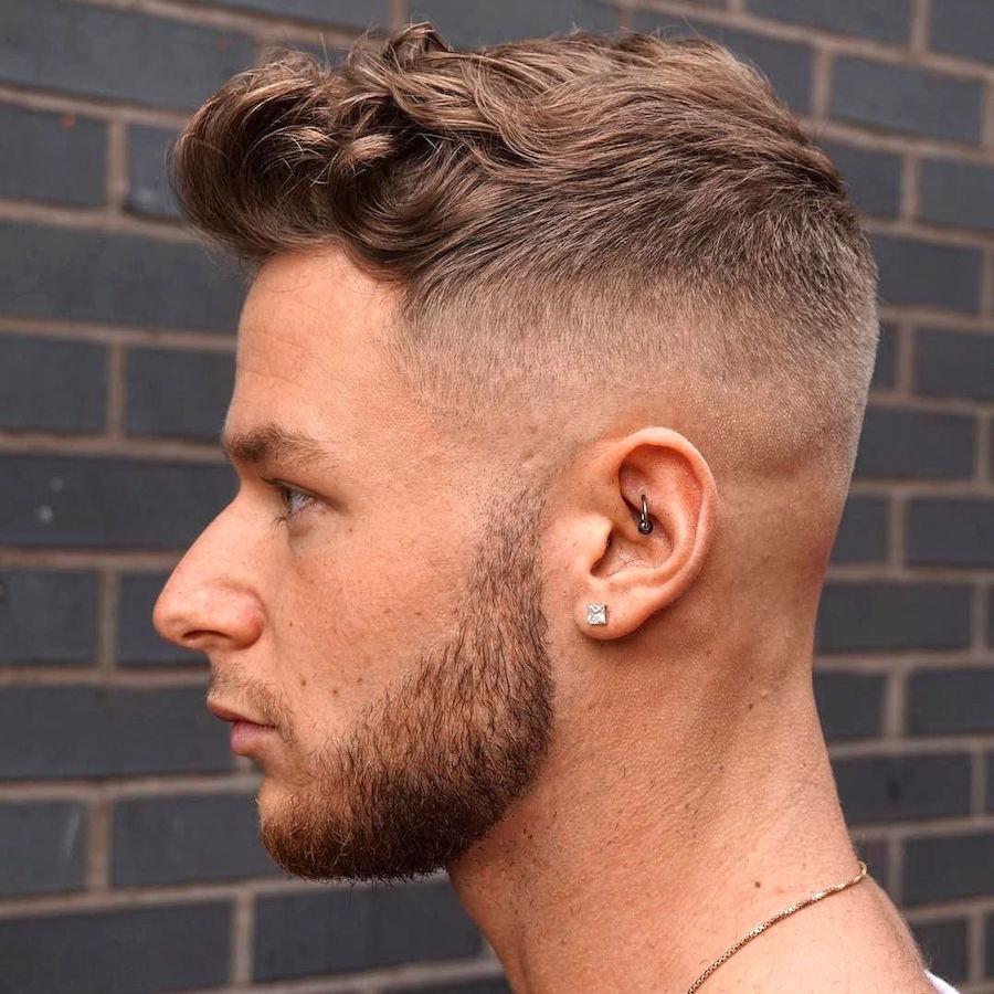 男らしいベリーショートヘア