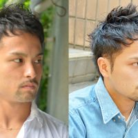 大学生 髪型 メンズ くせ毛