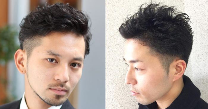 男性 髪型 ツー ブロック