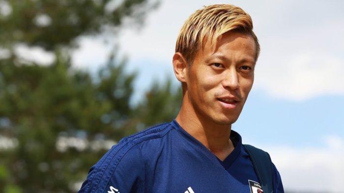 本田圭佑の髪型