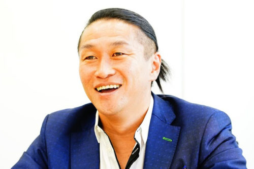 岡野雅行の髪型
