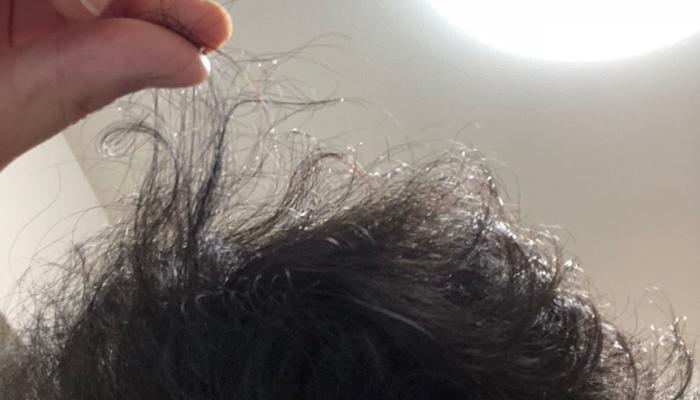 髪が乾燥してパサパサ