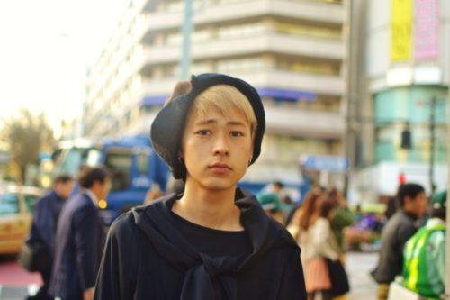 成田凌の金髪スタイル