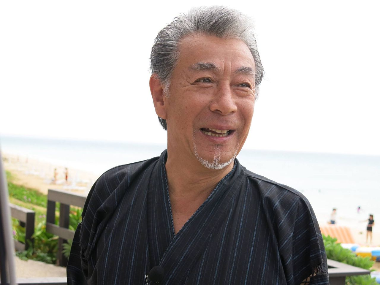 高田純次の白髪ヘア