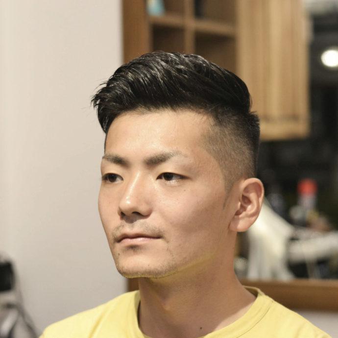 バーバー風,メンズ スタイル,日本人,似合う,髪型,作り方,セット方法