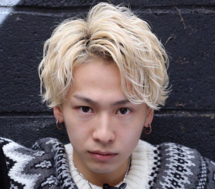 人気歌手風スタイル×センター分け